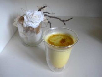 Goldene Milch Kurkuma Milch Foto/Bild